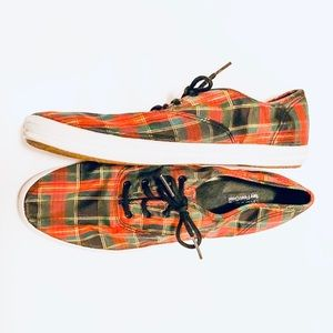 KEDS Plaid Sneakers